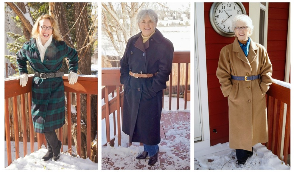 all three 2 cold weather outerwear for the 50's, 60's & 70's