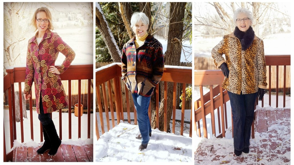 moderate weather outerwear for the 50's, 60's & 70's
