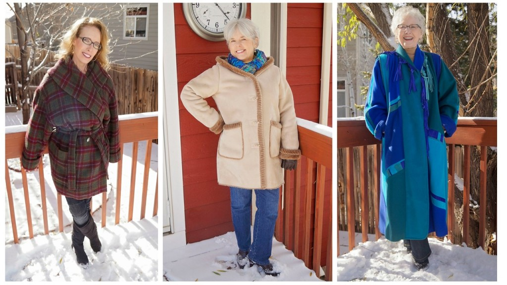 cold weather outerwear for the 50's, 60's & 70's
