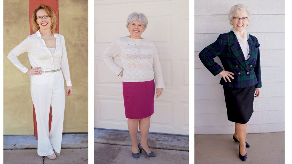 winter whites for the 50's, 60's & 70's
