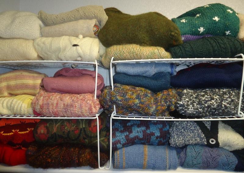sweater organization