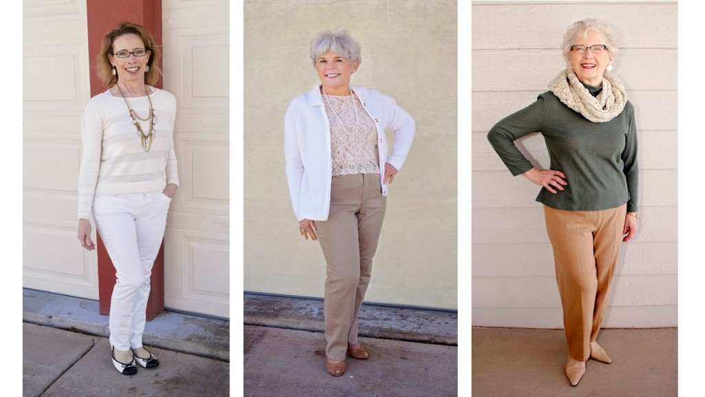 Winter whites for the 50's, 60's, & 70's