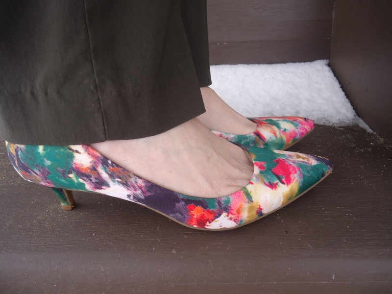 Florals for the 50's. 60's. 70's