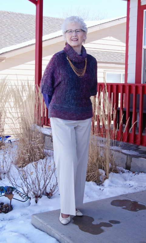chunky knits for the 50's, 60's, & 70's