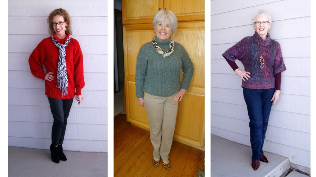 Chunky knits for the 50's, 60's & 70's