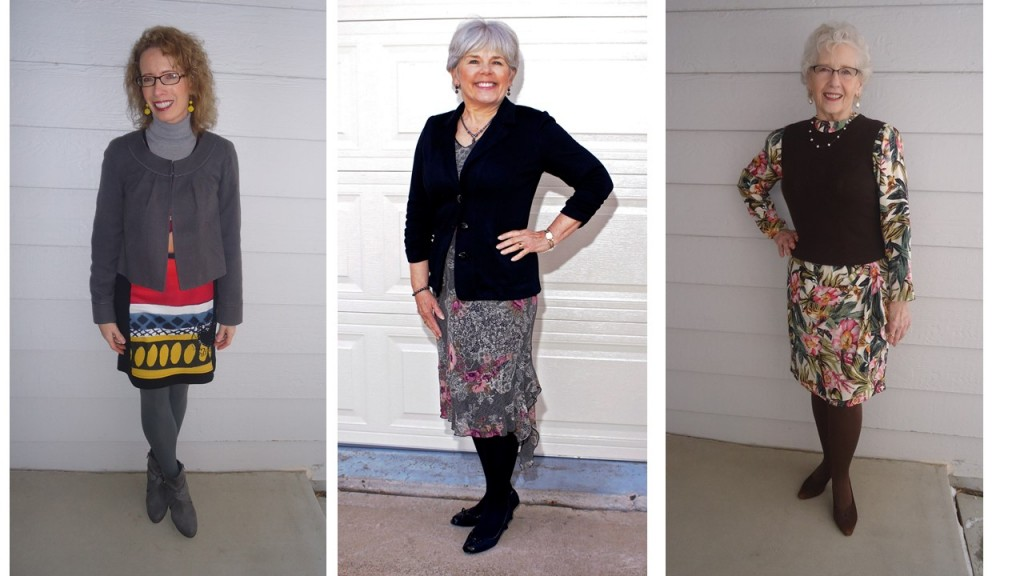 Skirt Showcase for the 50's, 60's. & 70's