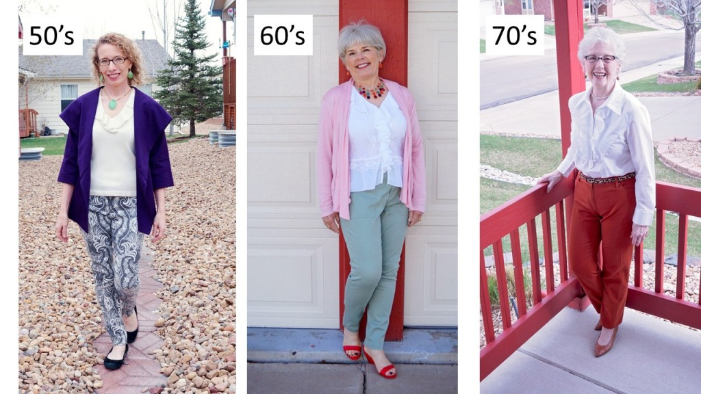 White Ruffle blouse for the 50's, 60's, & 70's age groups