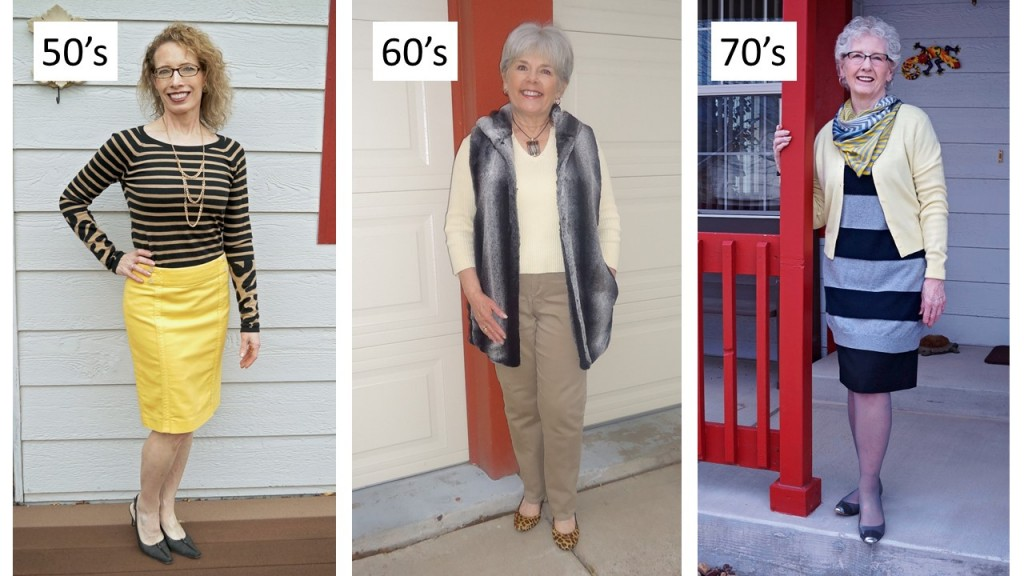 Yellow for the 50's, 60's & 70's