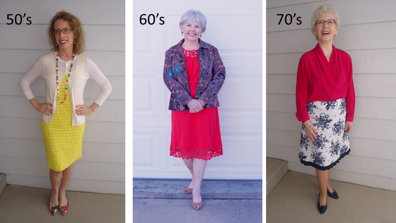florals for the 50's, 60's & 70's