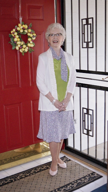 Wearing Separates to an outdoor wedding for Women over 70