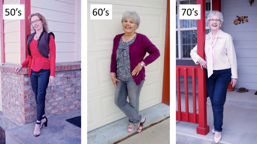 polka dots for the 50's. 60's & 70's