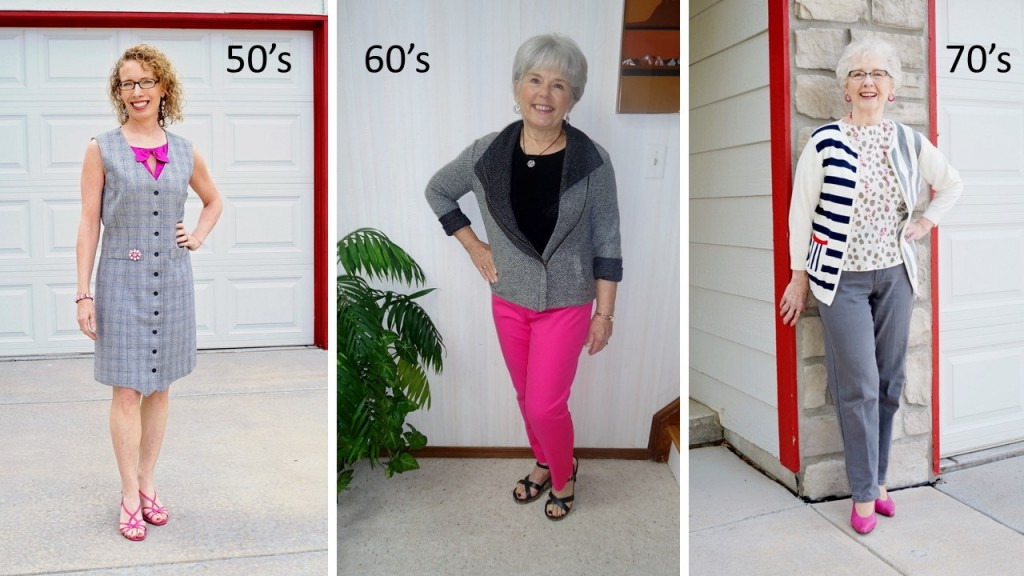 Bright Pink for the 50's, 60's, & 70's