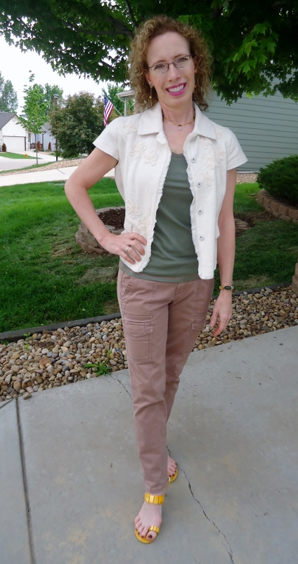 Jacket & T-Shirt for Women over 50
