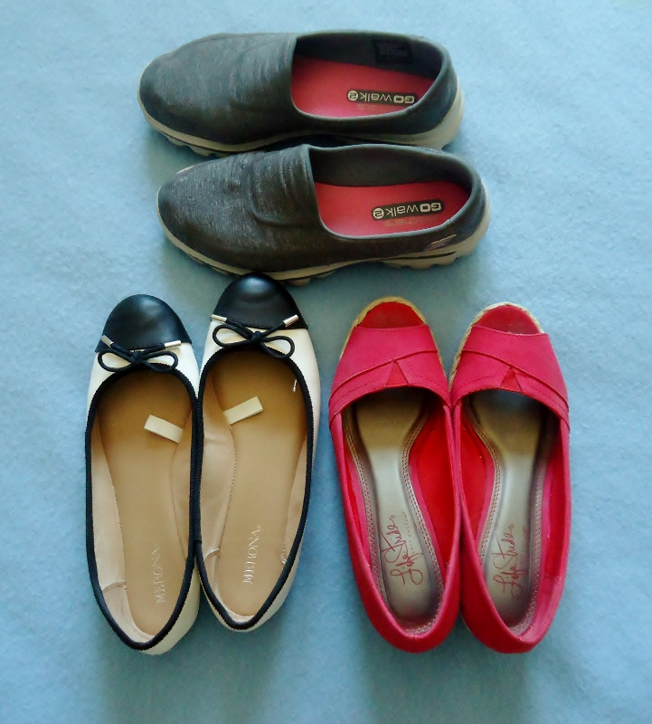 Travel Capsule--Shoes