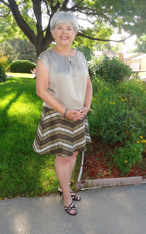 A-Line Skirt for the 50's, 60's, & 70's
