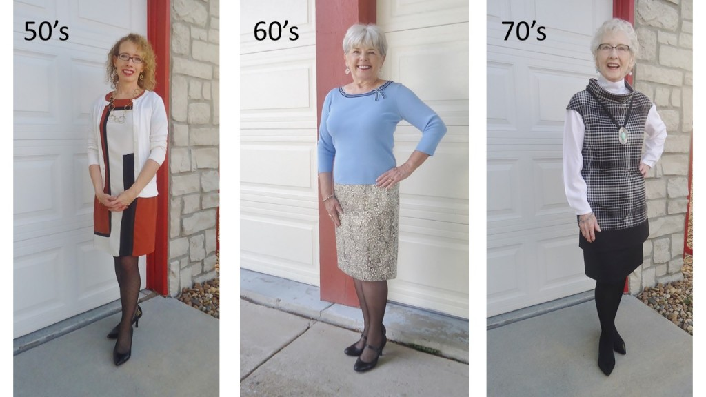 Hosiery for the 50's, 60's, & 70's