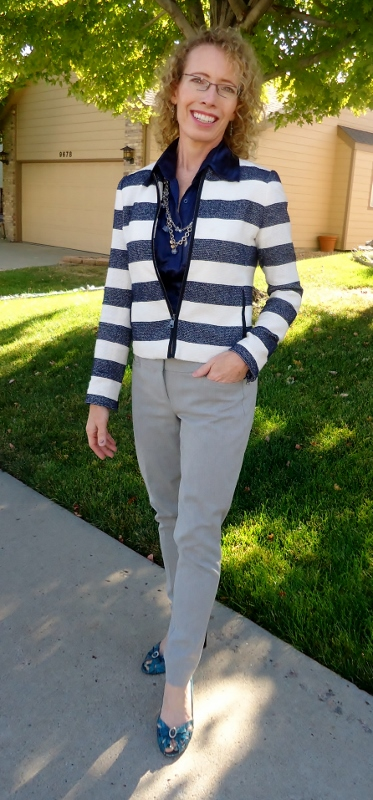 Horizontal Stripes for Women in their 50's, 60's, & 70's