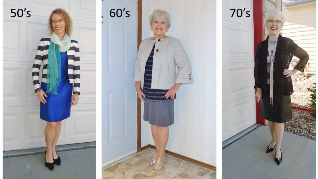 Horizontal Stripes for Women in their 50's, 60's, & 70's.