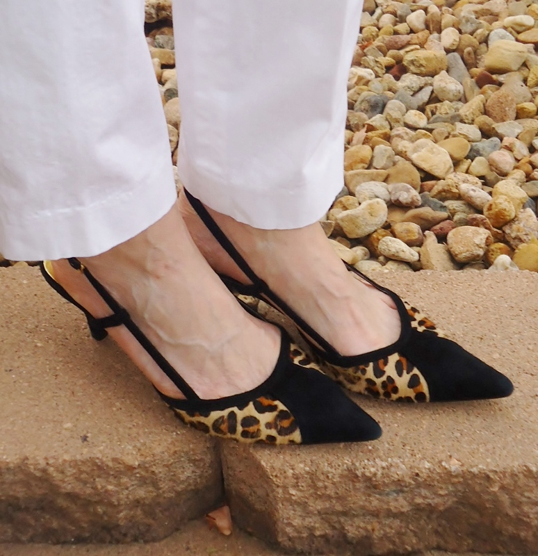 Leopard Shoes for the 50's, 60's, & 70's.