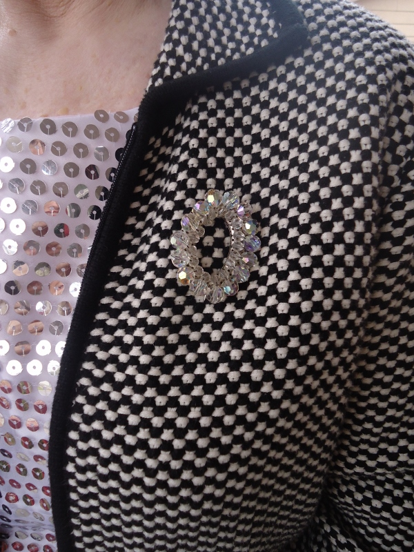 Sequins for the 50, 60 & 70 year old women.