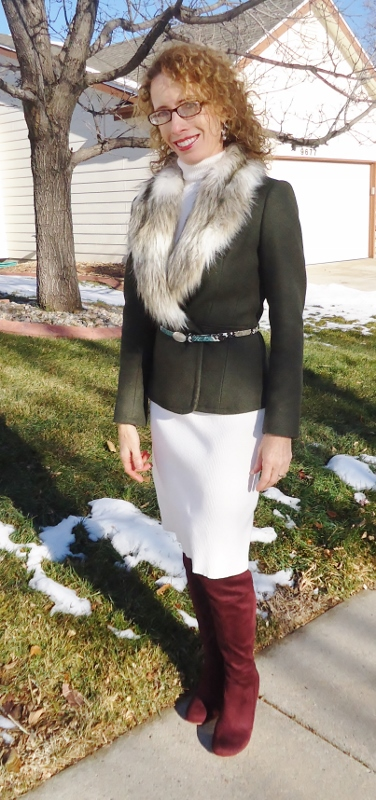 Fur for women in their 50's. 60's. & 70's.