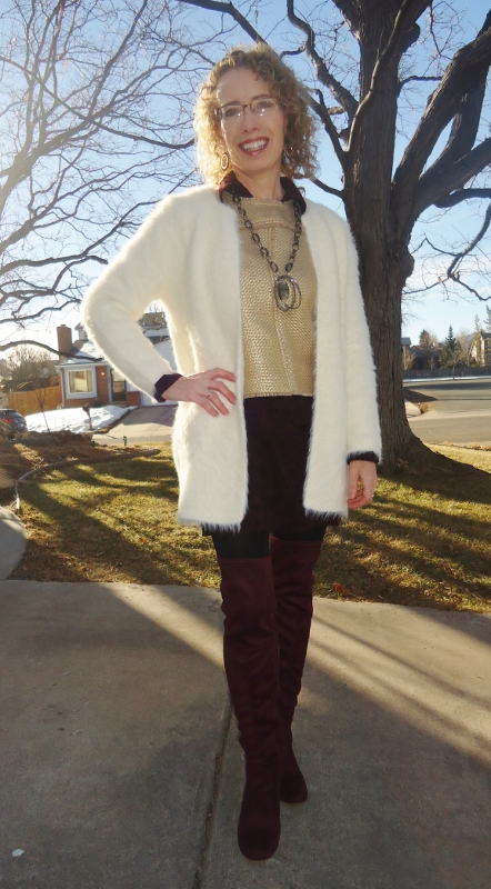 Tunics for winter for the 50's, 60's, & 70's age groups.