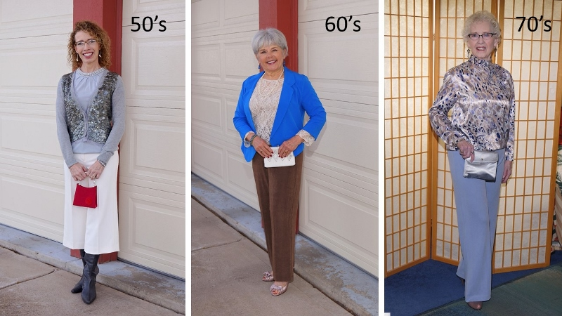Spring Weddings for the 50, 60 & 70 year old women.