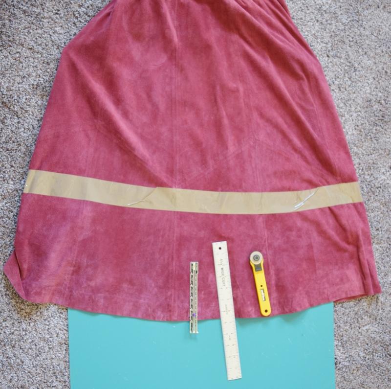 How to make your own Fringe Skirt.