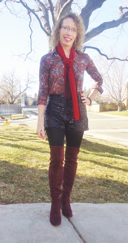 Print Shirts for women in their 50's, 60's, & 70's.