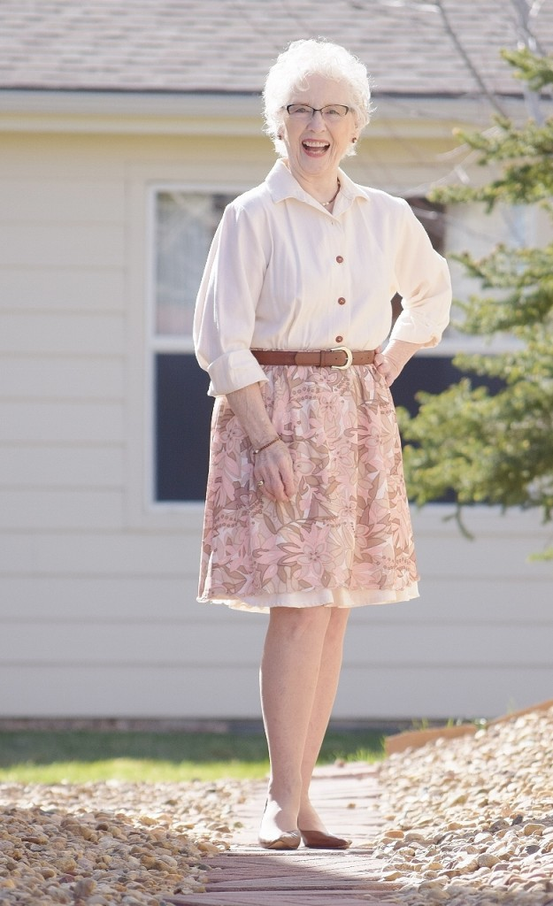 Shirt dresses for women in their 50's, 60's & 70's