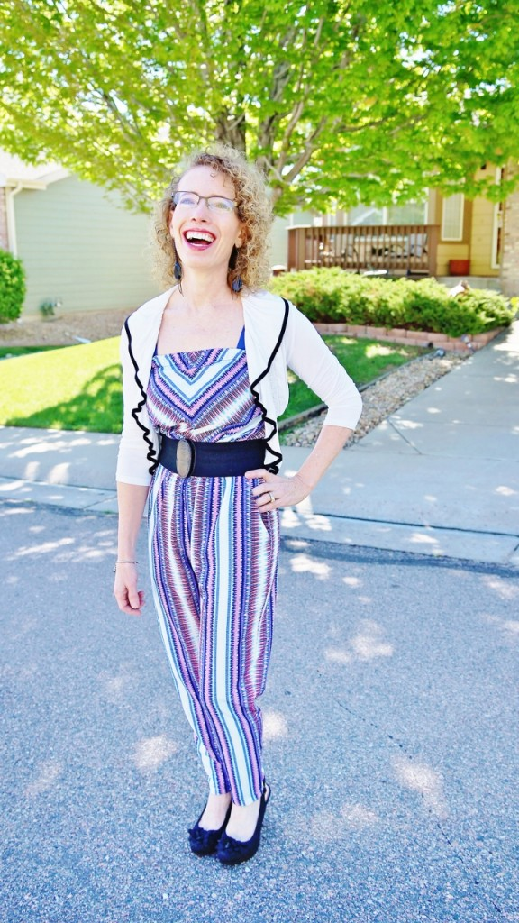 Jumpsuit worn for Women over 50