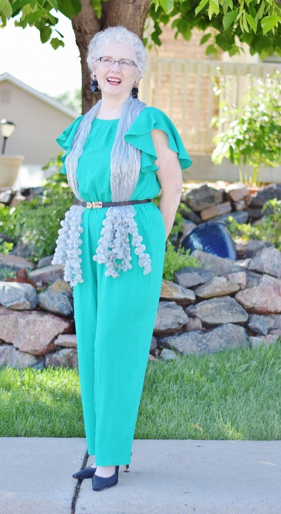 Jumpsuit worn for Women over 70