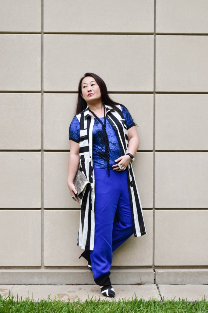 Black & White Outfits for Women in their 50's, 60's, & 70's.
