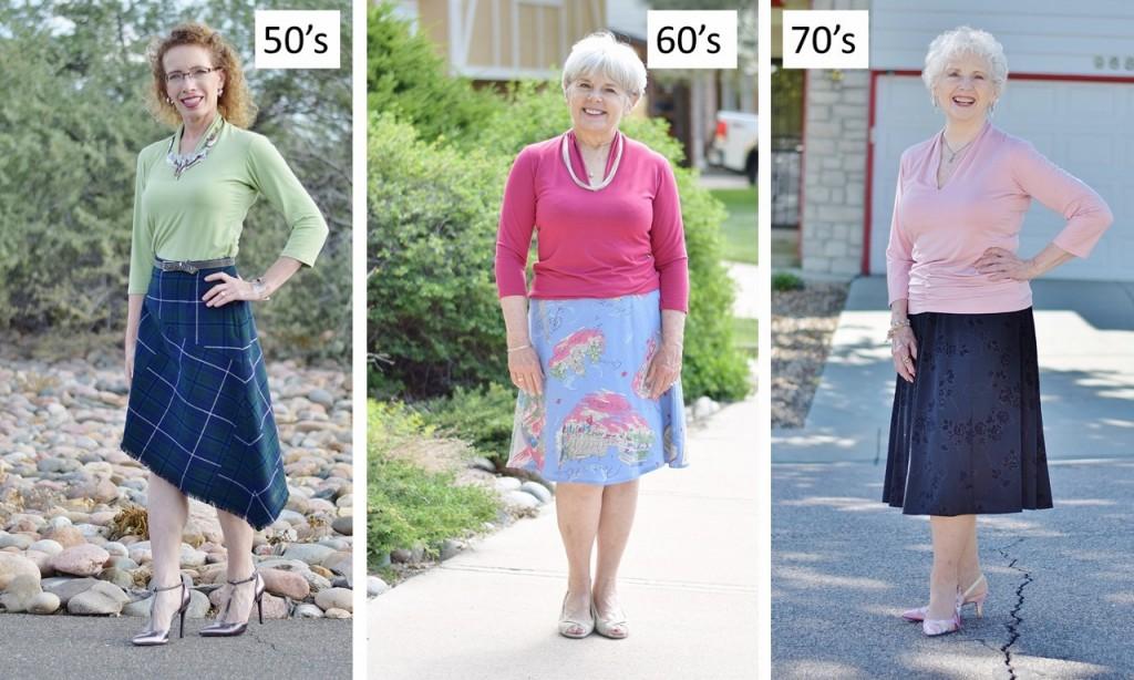 Fabrizio-Gianni t-shirts for the 50's, 60's, & 70's women.