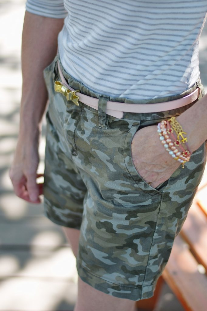 The Camouflage print for any age woman.