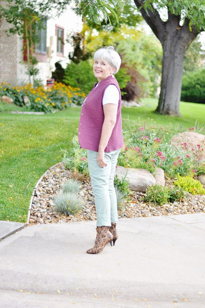 Fashion for women ages 50 and older.
