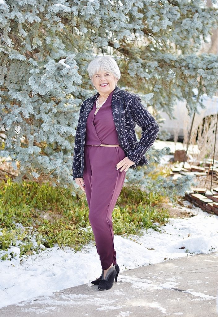 Winter Wedding Outfits for Women in their 50's, 60's, & 70's.