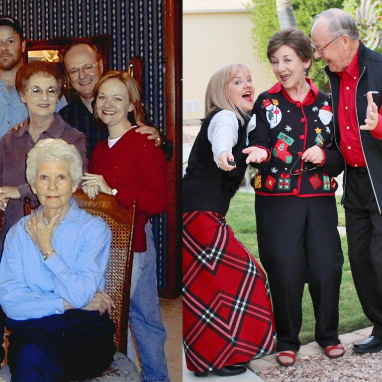 Holiday Collaboration for 4 Generations.