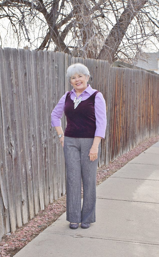 Style & Fashion for women in their 50's, 60's & 70's.