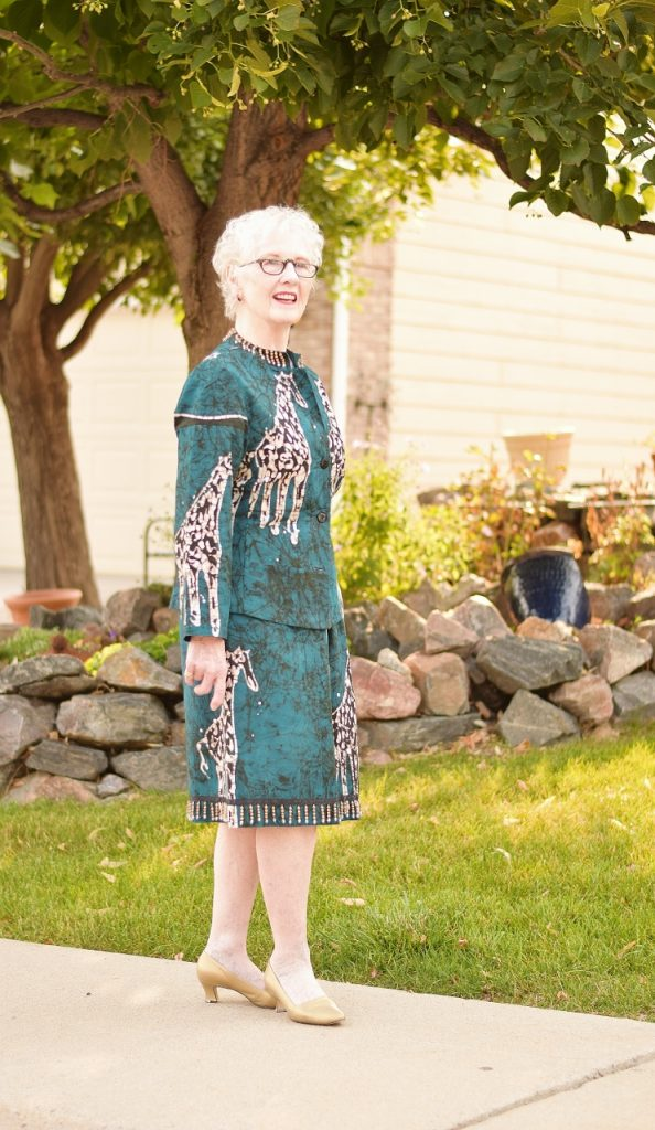 Sentimental clothing and Women over 70