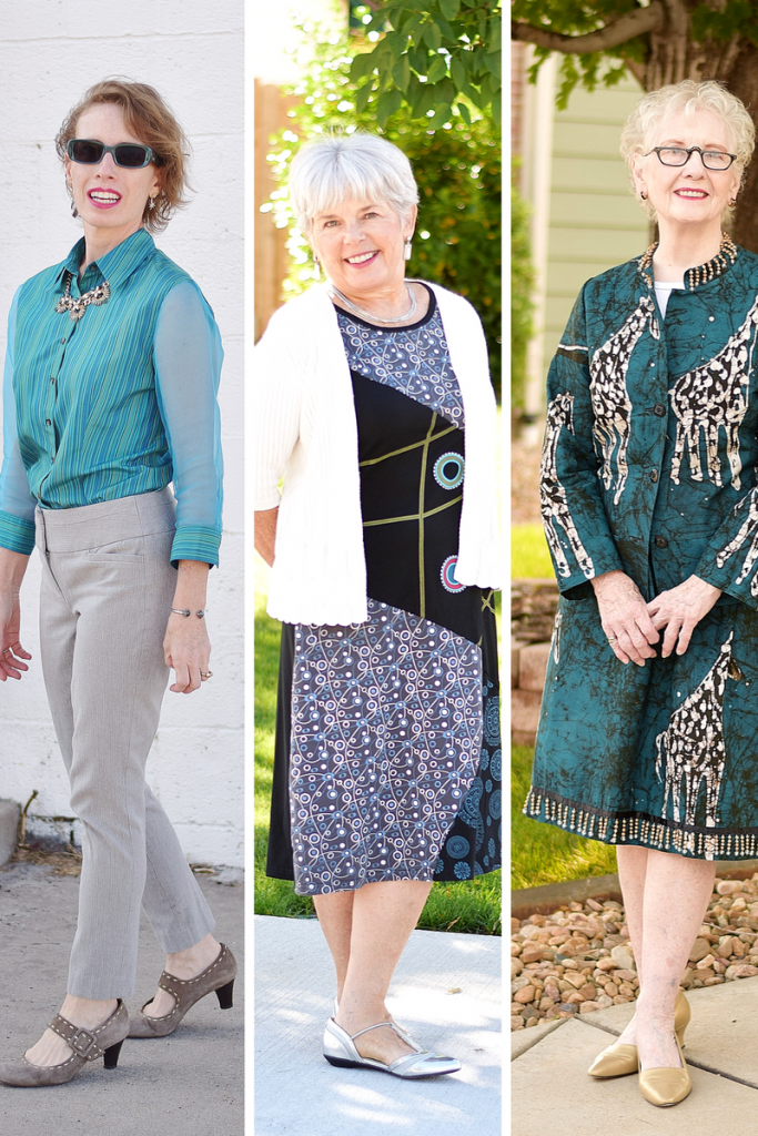 Sentimental clothing for 3 generations of women