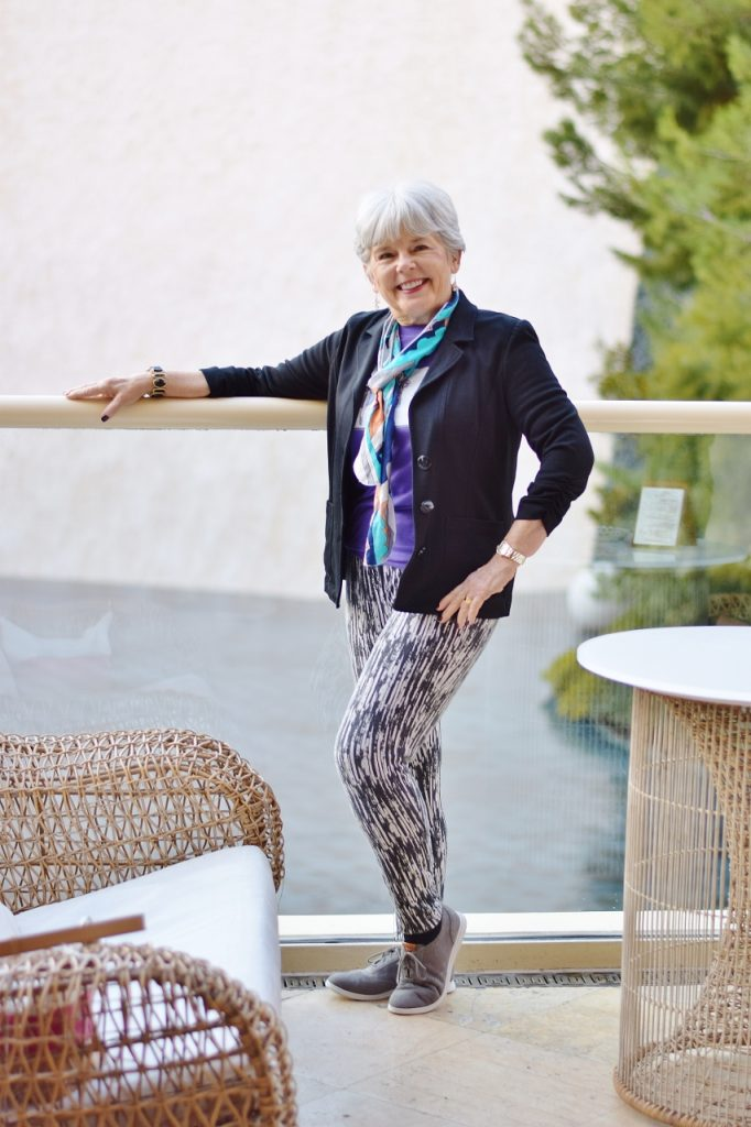 Women over 60 and accessories