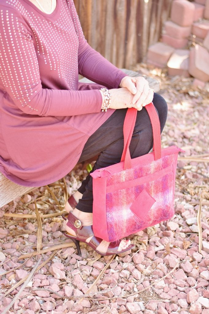 Matching hats & purses that are handmade