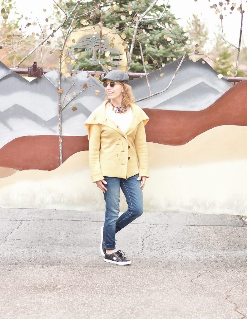 Women over 40 can wear sneakers and still look good