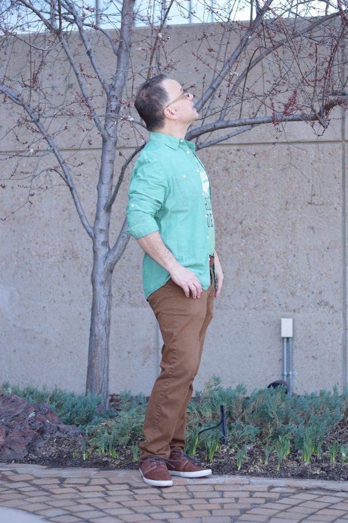 Green & Brown for Men's Fashion