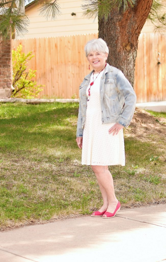 Fashion is Ageless with jean jackets
