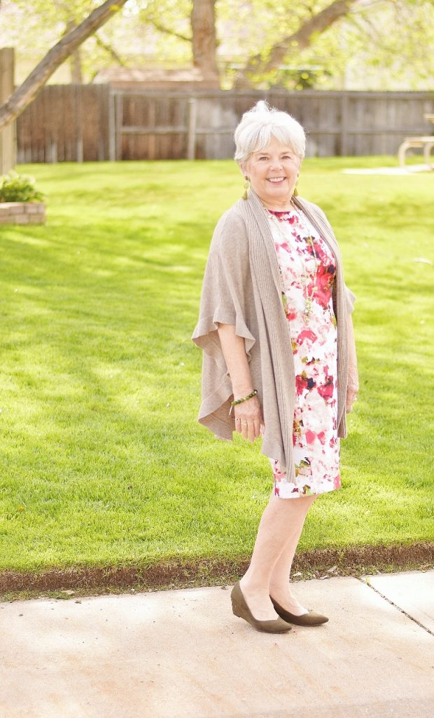 Women over 60 and a Floral Dress