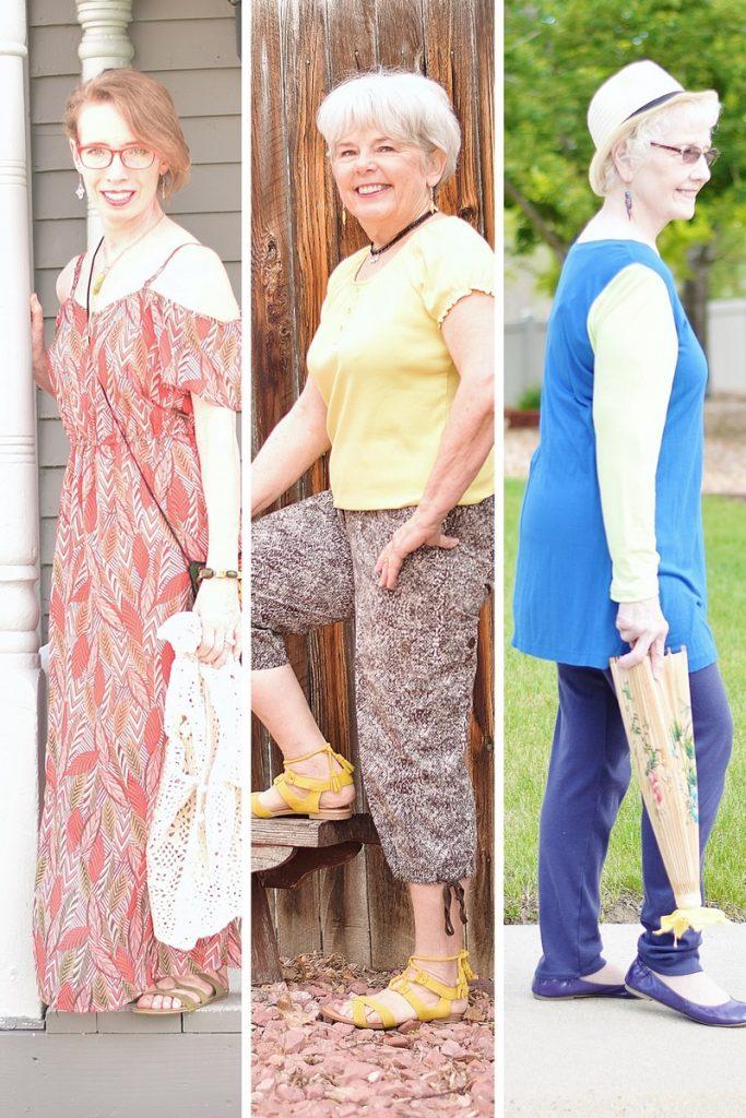 Older Women's Wear for Summer