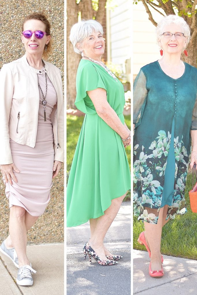 Fashion for 3 Generations of Women