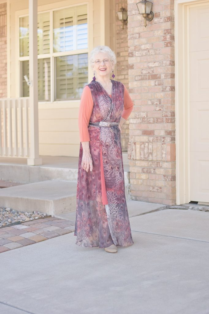 Fashionable Dresses for Women over 70
